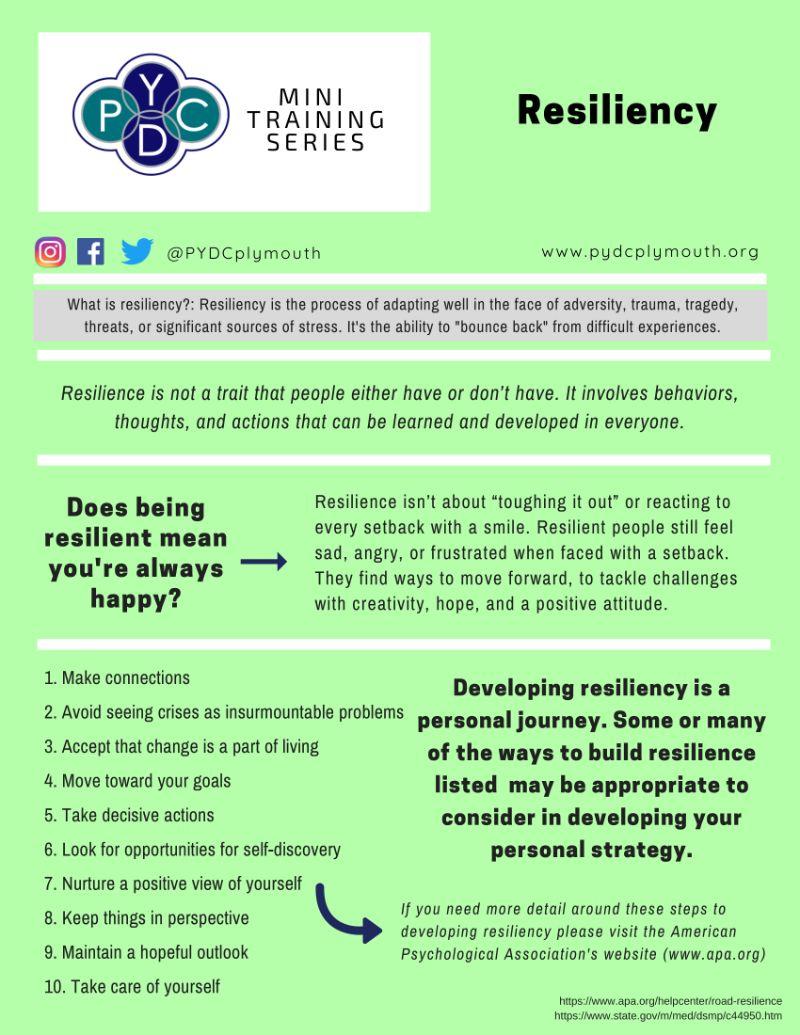 Resiliency Mini Training